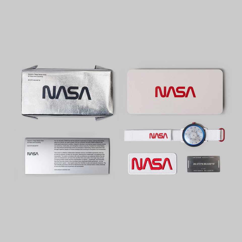 NASA × ANICORN - 60th Anniversary Limited Edition