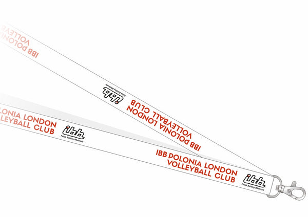 IBB Polonia Volleyball Club lanyard