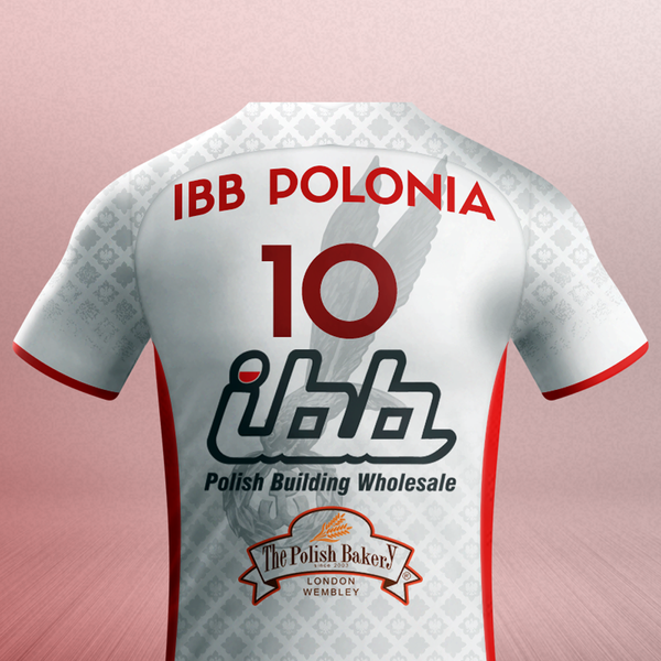 WHITE - IBB Polonia Volleyball Club shirt with YOUR name
