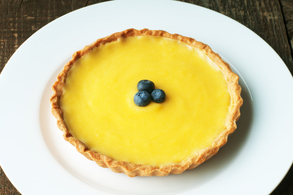 simple but delicious lemon tart