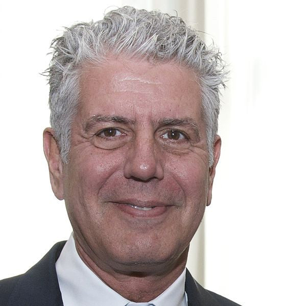 Anthony Bourdain by the Peabody Awards cc2.0 https://www.flickr.com/photos/peabodyawards/14253364565/