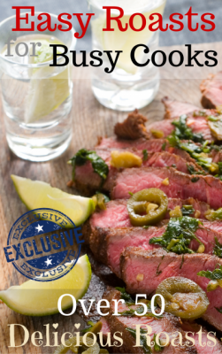 Free eBook only with YumYum 'Easy Roasts for Busy Cooks - Over 50 Delicious Roasts'