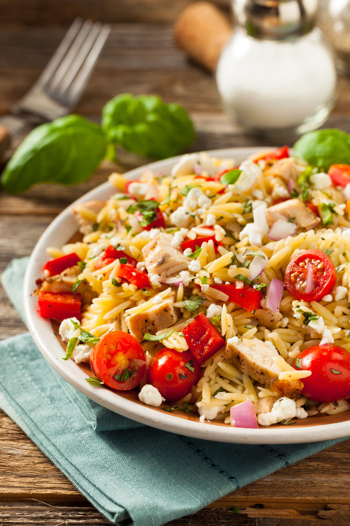 Homemade Chicken Orzo