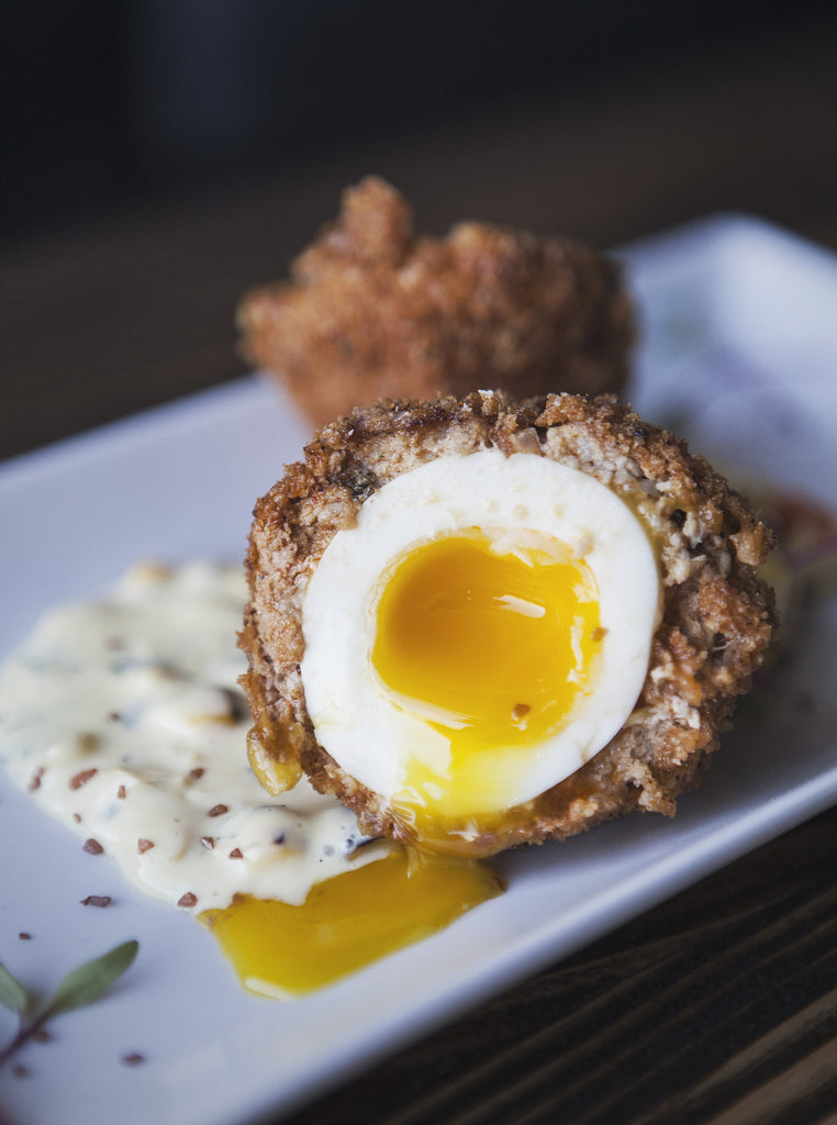 how to make perfect oven baked scotch eggs