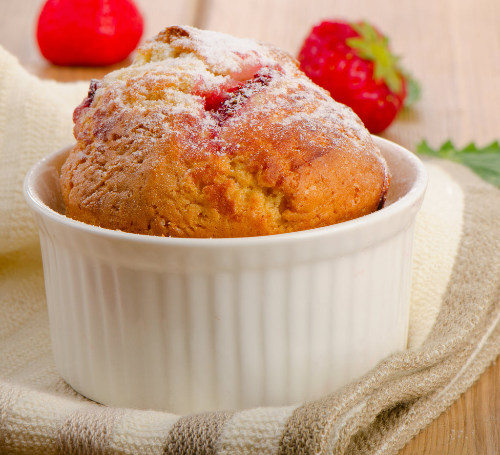 Easy Strawberry Muffin