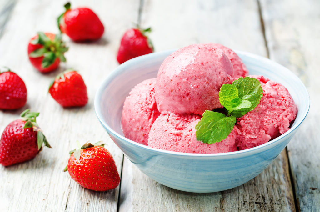 Strawberry Ice-Cream