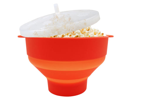 Microwave Popcorn Popper, Make Delicious and Healthy Popcorn with the Best Hot Air Popper Popcorn Maker, Simple Guidance and 44 Fantastical Popcorn Popper Flavours eBook