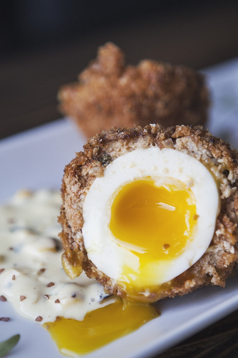 How to Make Perfect Scotch Eggs in the Oven