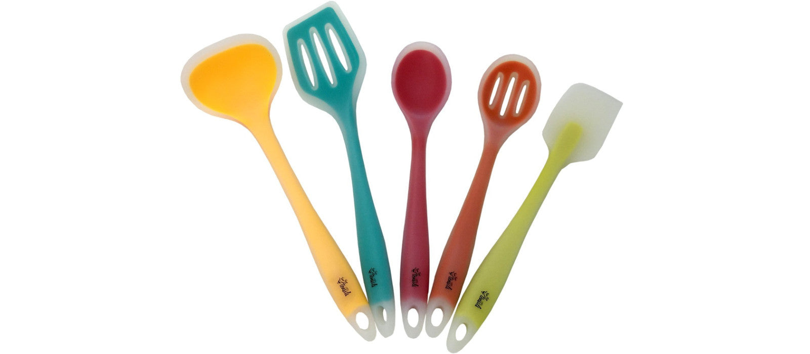 YumYum Utensils Premium Silicone Utensil Set