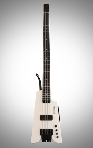 Steinberger Synapse XS1FPA Electric Bass (with Gig Bag), Alpine White)