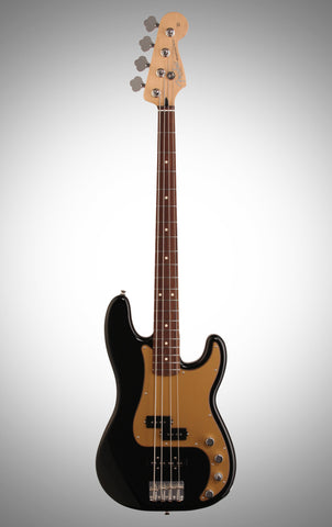 Fender Deluxe P-Bass Special Active Electric Bass (Rosewood with Gig Bag)