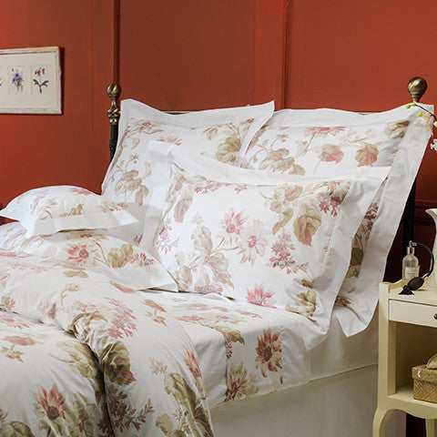 Egyptian Sateen Cotton Floral Romance Duvet Cover