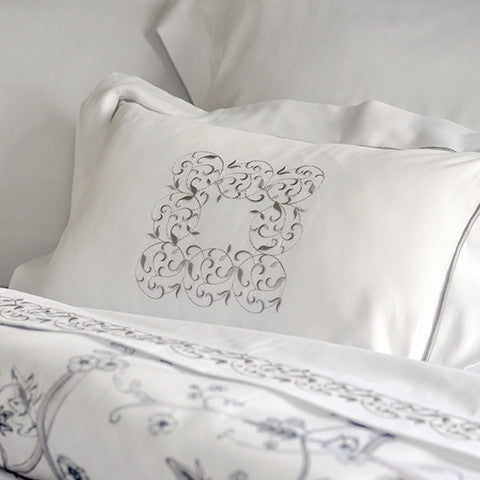 Egyptian Cotton Embroidered Kensington Pillow Covers