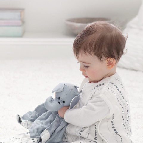 Aden + Anais - Grey Elephant 3 piece Gift Set for Baby
