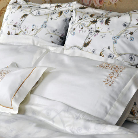 Egyptian Cotton Kensington Olive Jacquard Duvet Covers