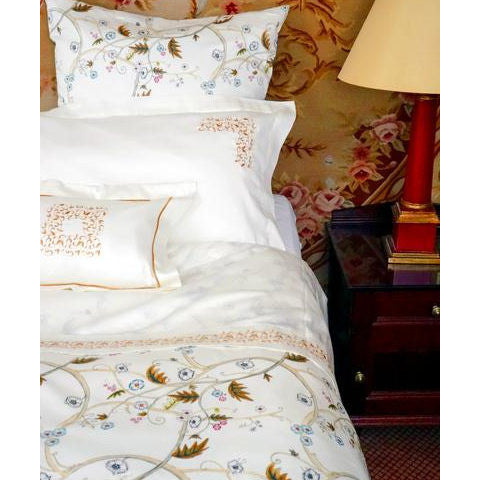 Egyptian Cotton Kensington Printed Olive Duvet Covers