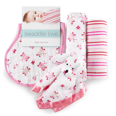 Aden & Anais - Princess Posie 4 Piece Gift Set for Baby