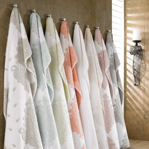 Premium Long Staple Turkish Cotton Jacquard Designer Towel Set