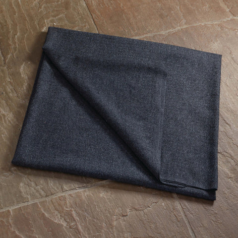 100% Lambswool Throw Dark Grey