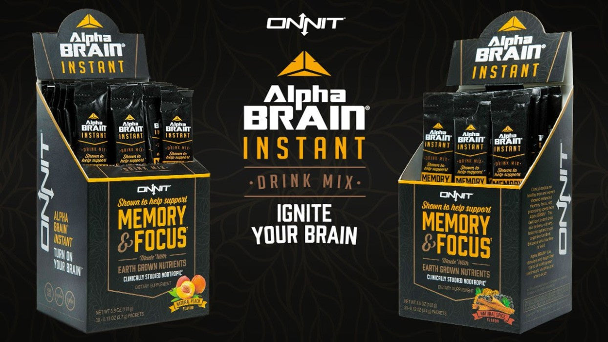NEW - Alpha Brain Instant