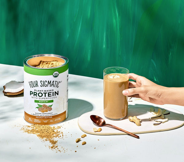 Four Sigmatic Peanut Butter Plant Protein