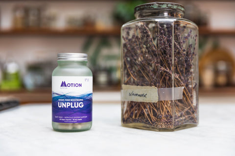 Unplug night time nootropic from Motion Nutrition for Ireland