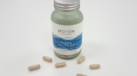 Unplug from Motion Nutrition available in Ireland