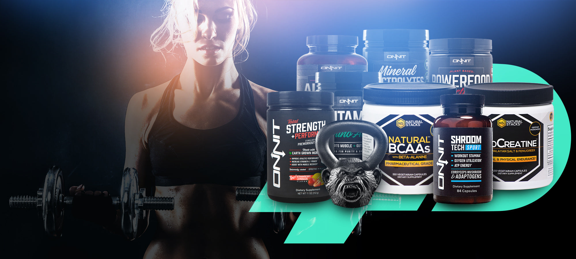 Powerful ie - Distributor for Onnit Labs and Natural Stacks