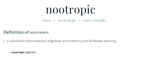 Nootropic Definition - Merriam-Webster Dictionary