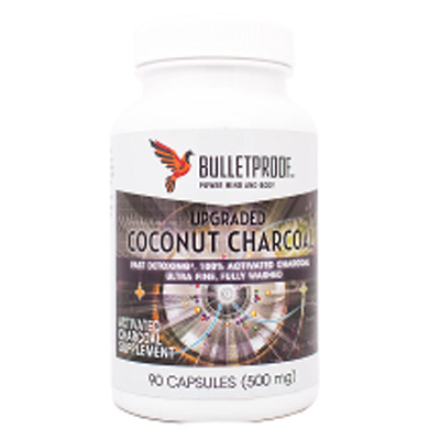 Bulletproof Upgraded Coconut Charcoal Capsules