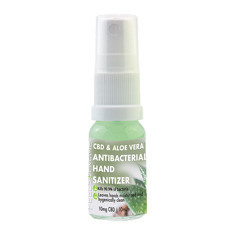 CBD Hand Sanitizer with Aloe Vera