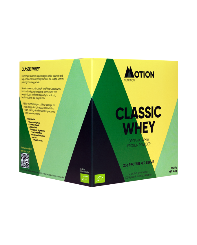 Classic Whey Protein Powder from Motion Nutrition