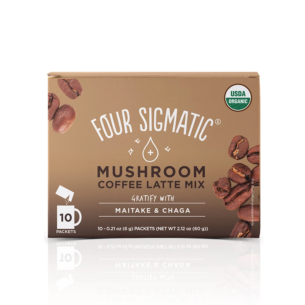 Four Sigmatic Mushroom Coffee Latte with Maitake & Chaga
