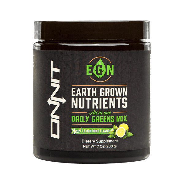 Onnit Earth Grown Nutrients EGN in Lemon Mint Flavour