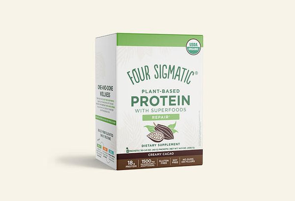 Four Sigmatic Plant Based Creamy Cacao Protein Powder
