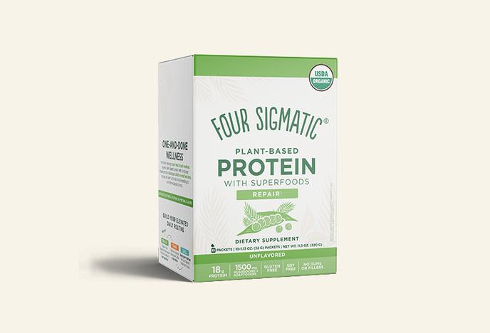 Four Sigmatic Plant Based Protein Powder 10 Packets