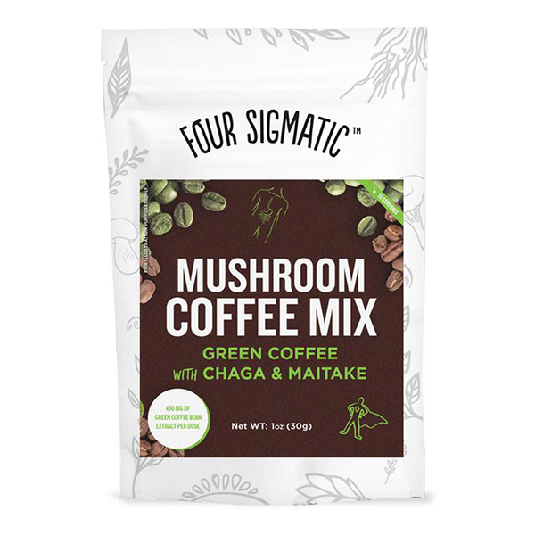 Four Sigmatic Mushroom Coffee with Green Coffee Bean extract