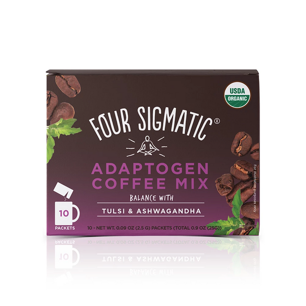 Adaptogen Coffee with Tulsi and Ashwagandha from Four Sigmatic