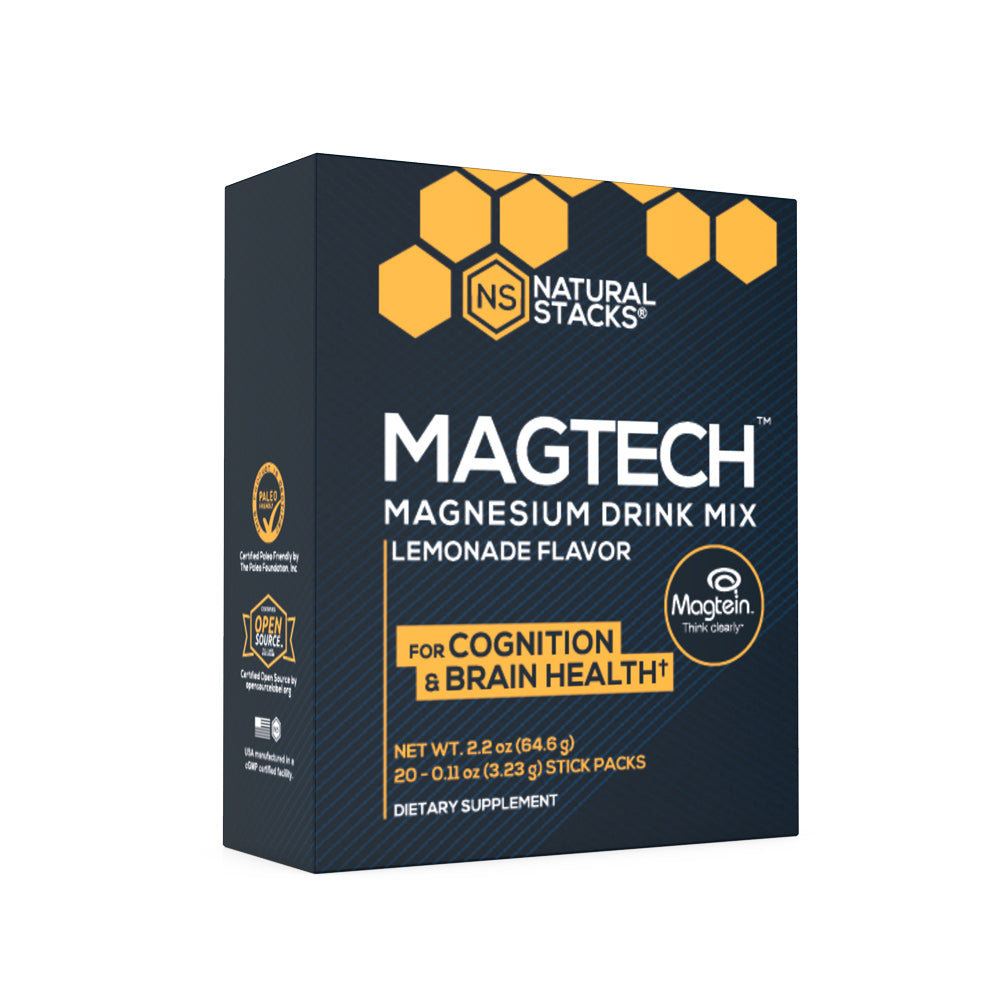 MagTech Magnesium Drink Mix from Natural Stacks
