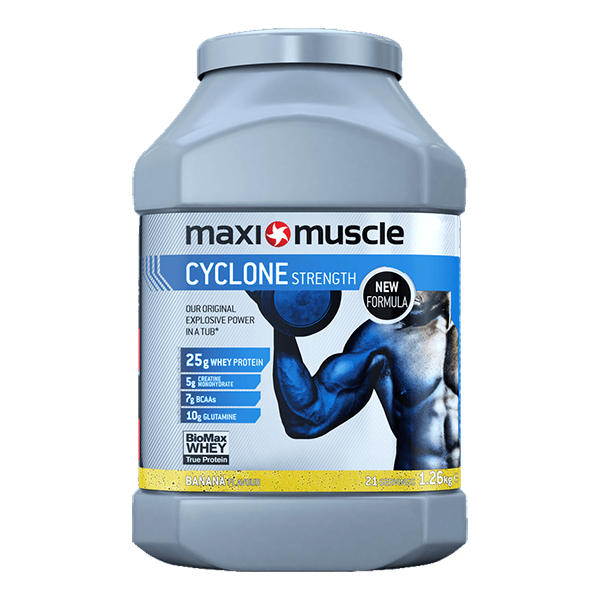 MaxiMuscle Cyclone in Banana Flavour