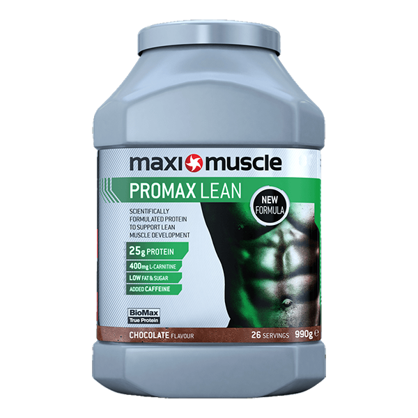 MaxiMuscle Promax Lean in Chocolate flavour