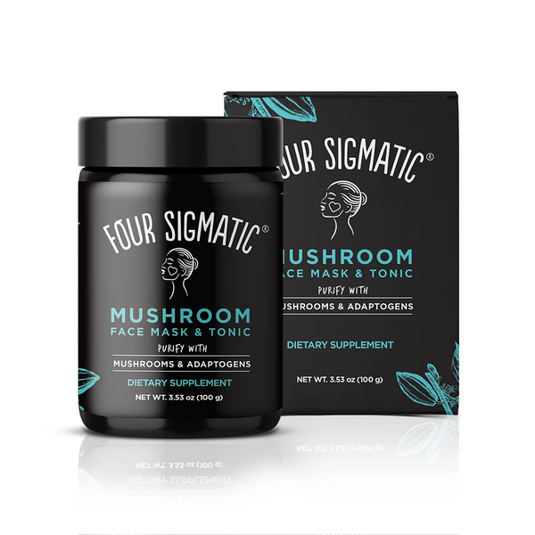 Four Sigmatic Mushroom Face Mask and Tonic