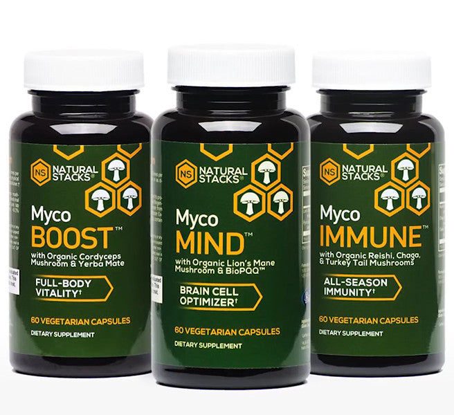 Natural Stacks Myco Range - Bundle Offer