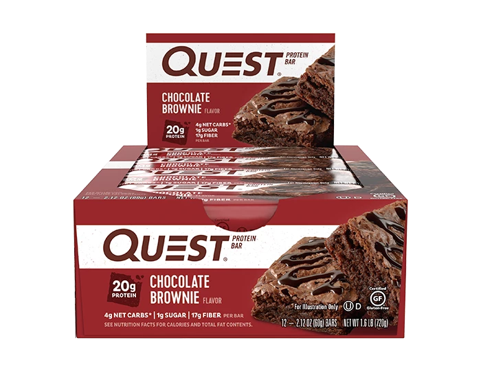 Quest Protein Bars - 12 X 60g