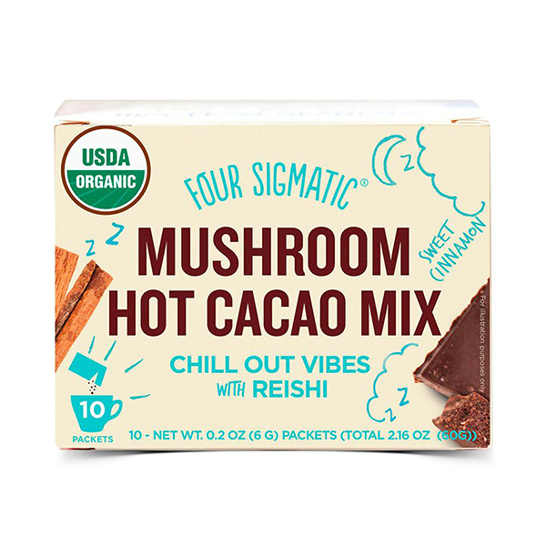 Four Sigmatic Mushroom Hot Cacao drink with Reishi