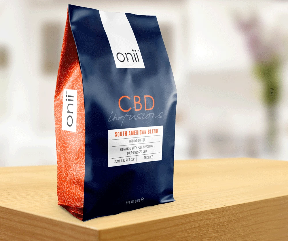 Onii CBD infused Coffee, South American Blend