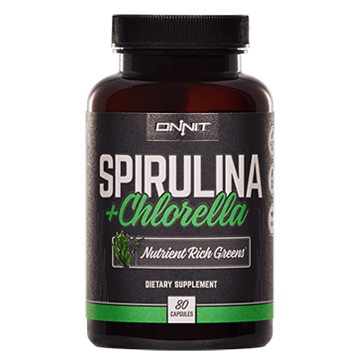 Spirulina and Chlorella from Onnit