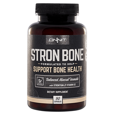 Stron Bone Strontium supplement from Onnit