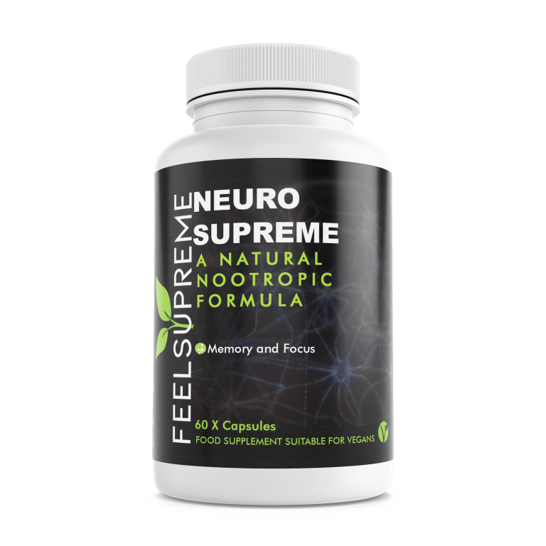 Neuro Supreme nootropic, available now in Ireland.