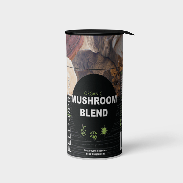 Organic Mushroom Blend from Feel Supreme, available now in Ireland